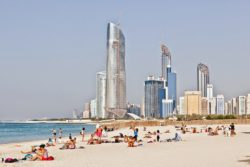 Как добраться из Шарджи в Абу-Даби. Расстояние Шарджа — Абу-Даби.