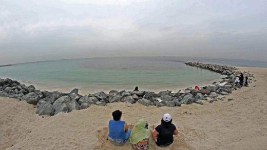 Пляж Аль-Хан в Шардже