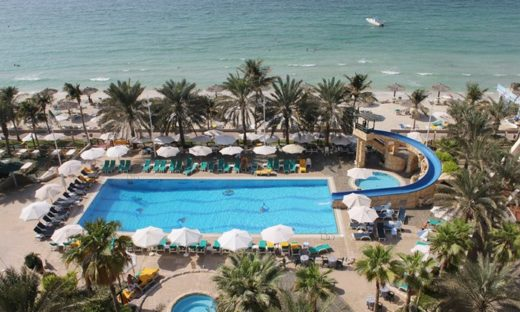 Пляж Grand Hotel Sharjah