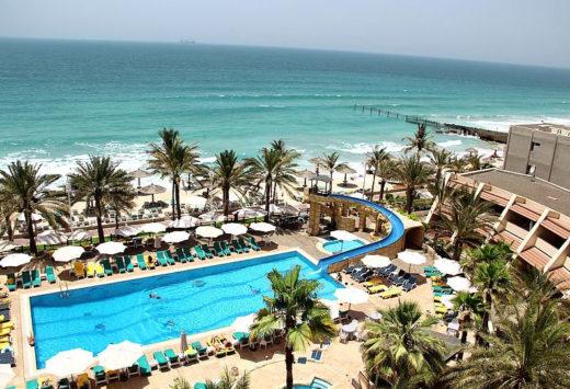 Пляж отеля Шарджа Гранд Хотел