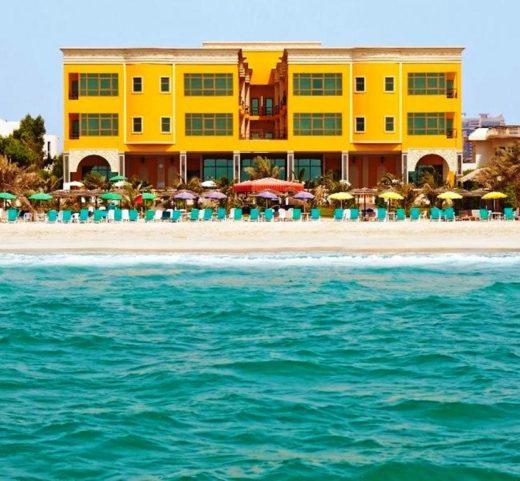 Отели Шарджи с собственным пляжем 5 звезд