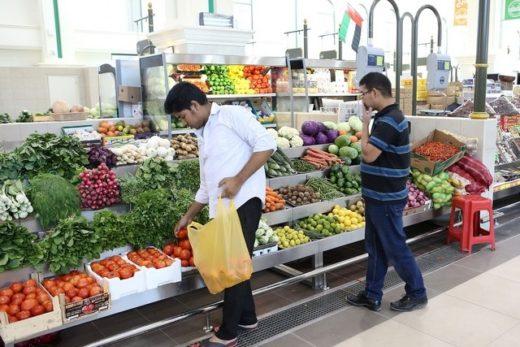 Фруктовый рынок в Шардже