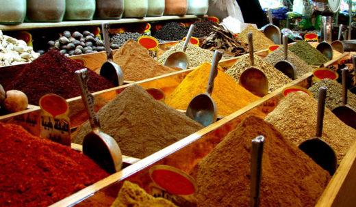 Рынок специй в Шардже