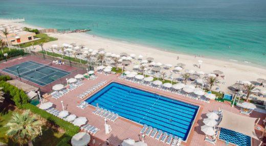 Пляж Sharjah Carlton Hotel