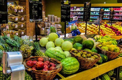 Цены на продукты питания в Шардже